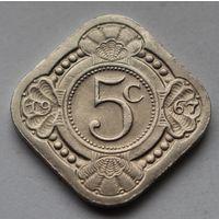 Нидерландские Антильские острова, 5 центов 1967 г.