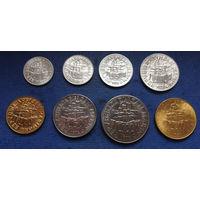 Сан-Марино 1, 2, 5, 10, 20, 50, 100, 200 лир 1978