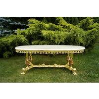 Журнальный / Кофейный столик Elegant OVAL_4