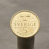Швеция 5 крон 2016