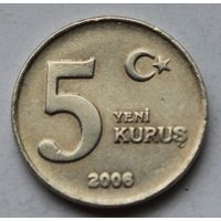 Турция 5 курушей, 2006 г.