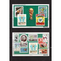 Боливия-1979(Мих.Бл.83-84) **, Спорт, ЧМ-1978-1982 по футболу