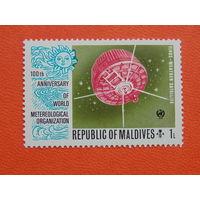 Мальдивы. Космос.