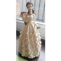 Статуэтка девушка, принцесса, невеста.