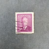 Марка Канада 1949-1951г.г. Король Георг VI