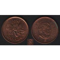 Канада _km490 1 цент 2006 год km490a магнит (L) (h01)
