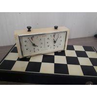 Шахматные часы Янтарь, советские, ретро.