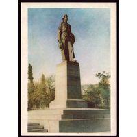 1959 год Ялта Памятник Горькому