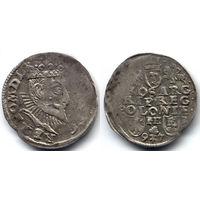 Трояк 1597, Сигизмунд III Ваза, Познань