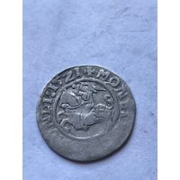 Полугрош 1521 г.  - с 1 рубля.