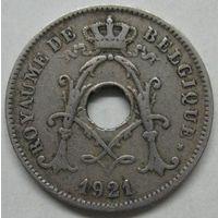 Бельгия. 10 сантимов 1921 года