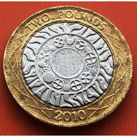 115-18 Великобритания, 2 фунта 2010 г.