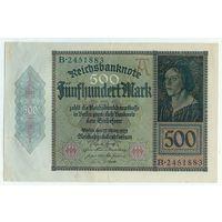 Германия, 500 марок 1922 год.