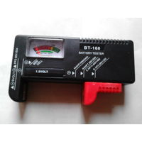 Прибор для измерения остатка зарядки батареи. ручной, карманный  вольтметр ВТ-168. распродажа