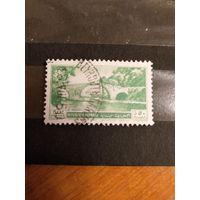 1951 Ливан Ивер 77 оценка 6 евро архитектура флора концовка серии (3-2)