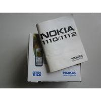 Коробка с инструкцией от Nokia 1110i