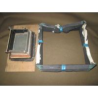 Фотоаппарат ФКД-мех и рамка с матовым стеклом.