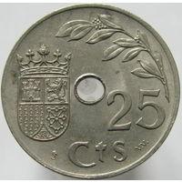Испания 25 сентимо 1937 (95)