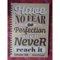 Скетчбуки с цитатами художников на обложках A4