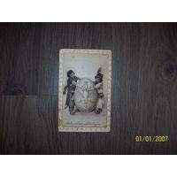 """Польская чистая открытка """"Пасха""""  до 1939 года"""