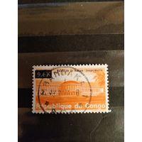 1969 Конго архитектура надпечатка самая дорогая марка серии (3-13)