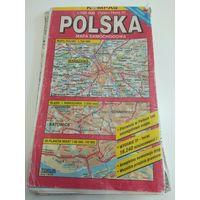 Карта Польши большая