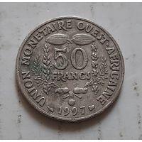 50 франков 1997 г. Западная Африка