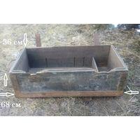 WW2, Вермахт: ящик для денежной кассы, документов. Смотри описание.