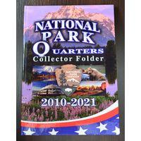 Альбом на 60 монет по 25 центов. Серия: Американские национальные парки. /977249/