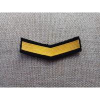 Шеврон нашивка годичка мичманов ВМФ СССР 4 года службы и выше