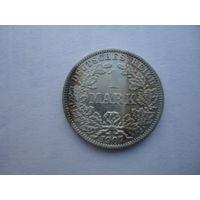 Германия Империя 1 марка 1907 г А