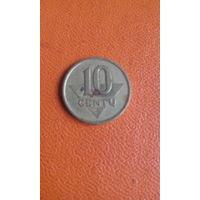 109# 10 центов 1997 Литва