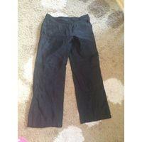 Фирменные брюки Bianca на 50-52 размер примерно. Германия, интересная жатая ткань, легкие и красивые. Ориентируйтесь на замеры: длина 101 см. ПОталии 46 см, Победер до 61 см тянутся. Практически не но