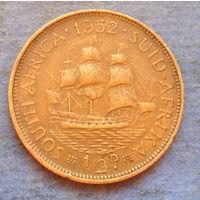 Южная Африка Британский доминион 1/2 пенни 1952 Георг V