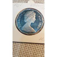 Фиджи 50 центов 1980