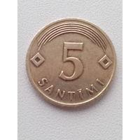 5 сантимов 2006 г. Латвия.