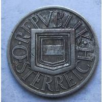 Австрия, 1\2 шиллинга, 1925, серебро