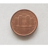 1 евроцент 2006 Италия