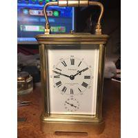 Часы каретные с репетиром и будильником.