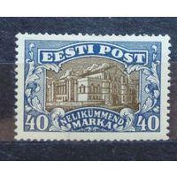 Эстония\523\Estonia.1924. Театры.MLH 25Mi