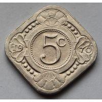 Нидерландские Антильские острова, 5 центов 1970 г.