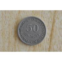 Ангола 50 сентаво 1950