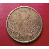 2 злотых 1981 Польша #04