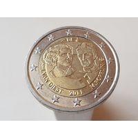 2 Евро Бельгия 2011 Международный женский день