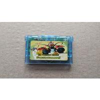 Картридж GameBoy Advance Hugo Bukkazoom не оригинал