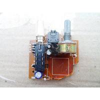 Переменный резистор (потенциометр)  B 50 ком сдвоенный плюс детальки *556
