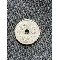 L007 5 сантимов бельгия 1906