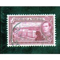 Тринидад и Тобаго. Ми-137.Главный почтовый офис и казначейство. Король Георг VI. 1941.