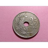 Бельгия 25 сантимов 1913