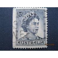 Австралия 1959 год. Королева Елизавета II